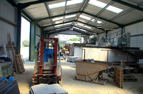 "Part of New Saw Workshop at California Quarry U.K.  "" Click here for more pictures of the quarry"""