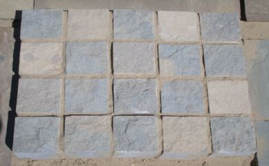 100mm Riven Cube Setts""